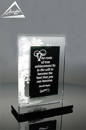 G22. Custom Glass Award