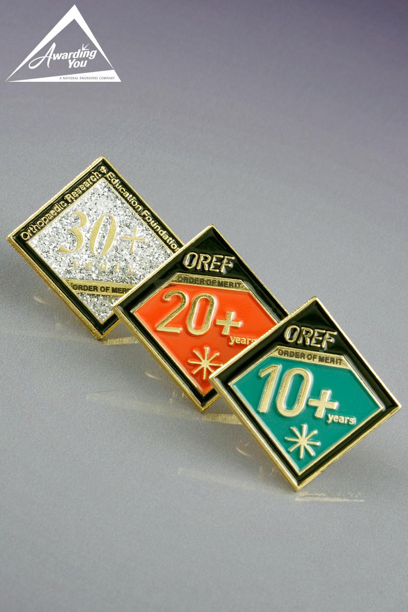 LP25. Custom Lapel Pins