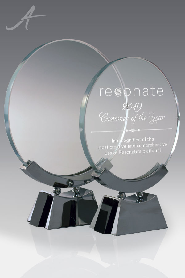 Julian Round Glass Award - Family