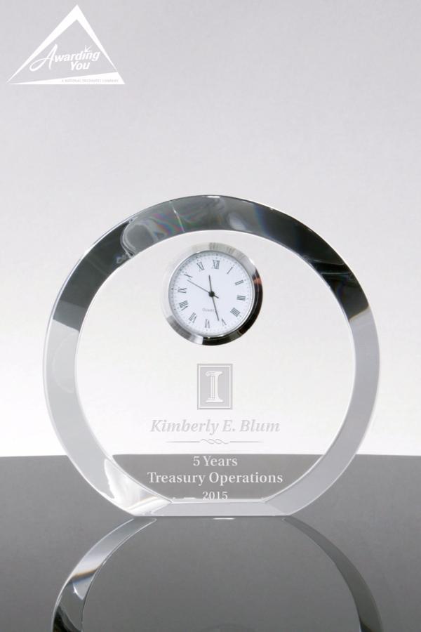 Naples Crystal Clock