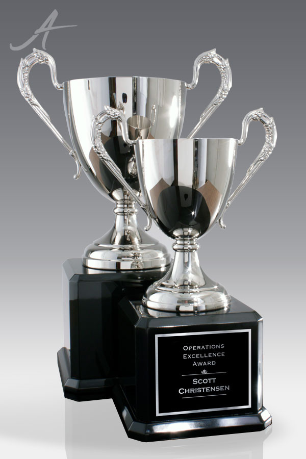 Nora Silver Metal Trophy Cup Award