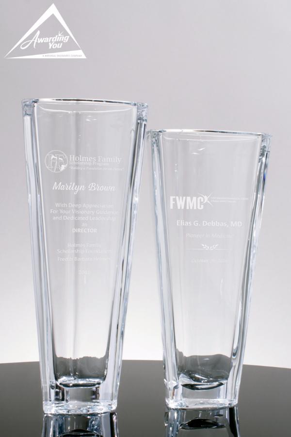 Sheffield Glass Vases