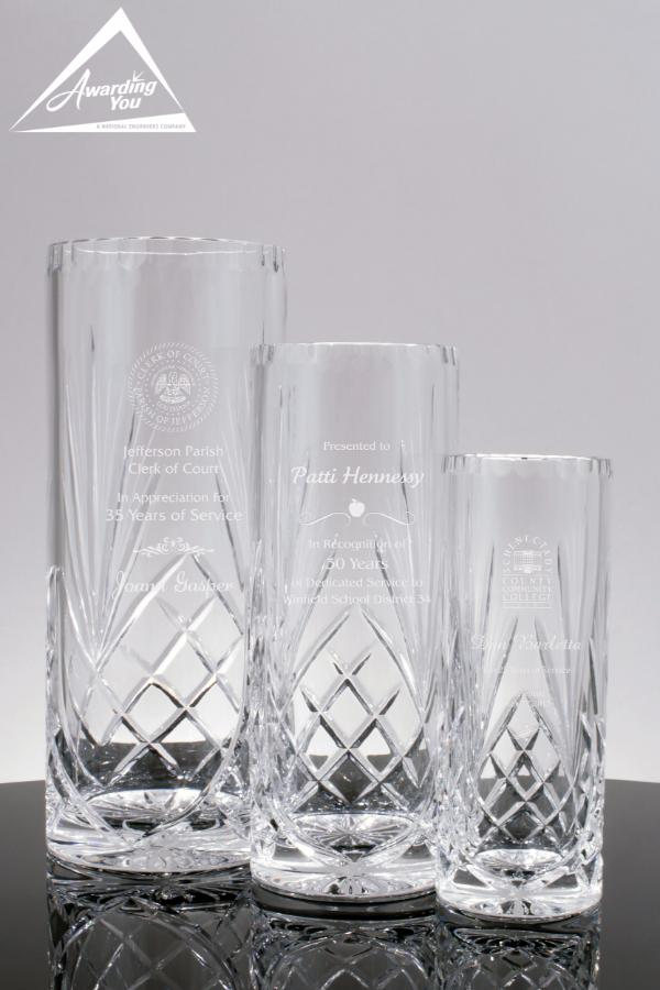 Winchester Crystal Vase Awards -1