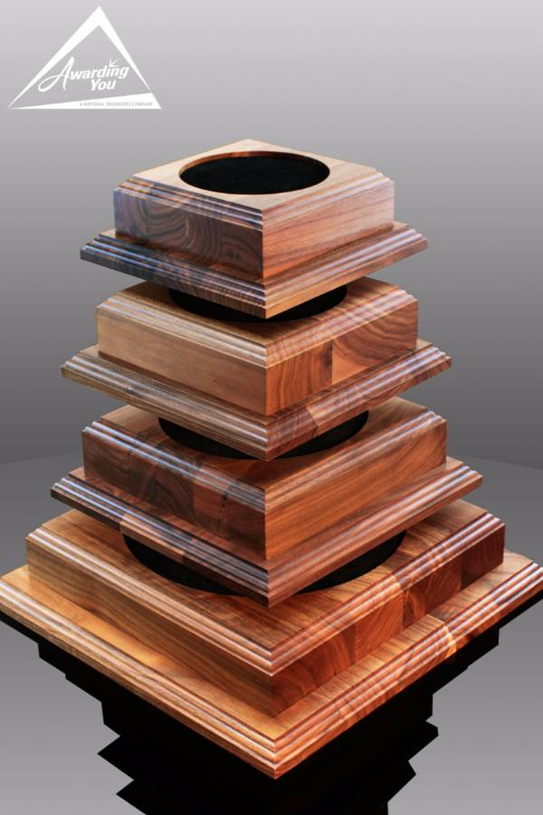 Square Walnut Bases, Awarding You (4 sizes)