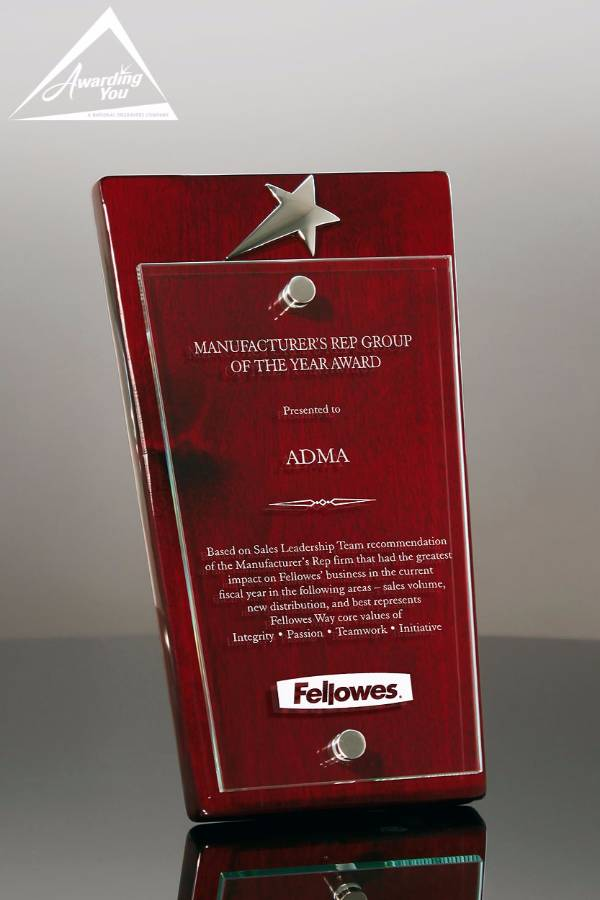 Focus Rosewood and Glass Award Family View