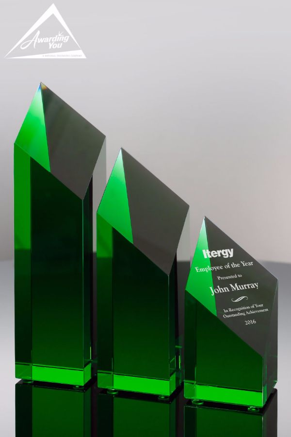 Emerald Ice Crystal Towers