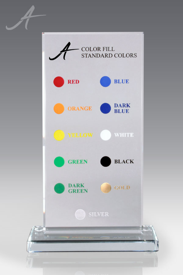 Awarding You Standard Fill Colors