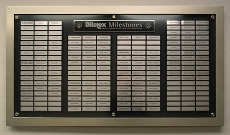 Blixtex Recognition Wall