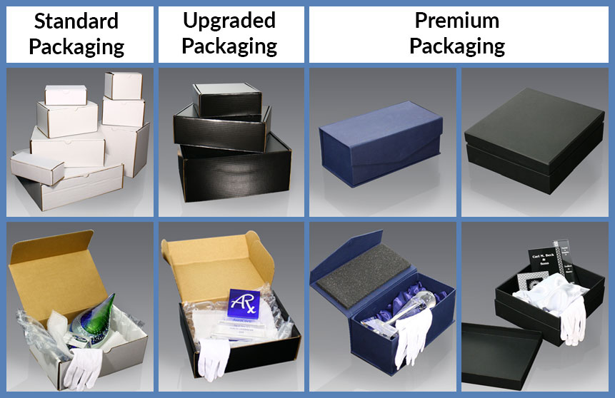 Award and Gift Packaging Examples