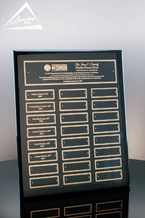 "7326-G Parker Perpetual Plaque, 12"" X 15"" 