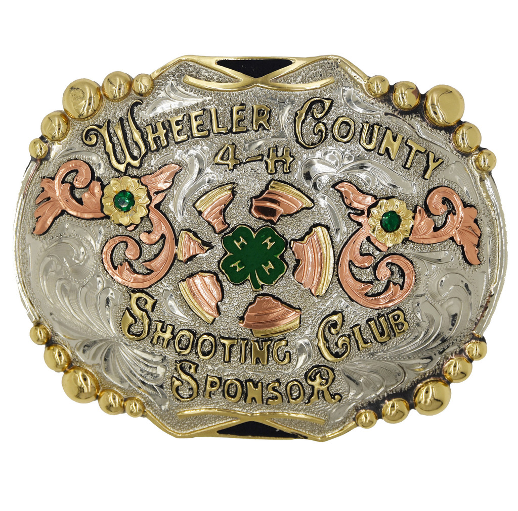The Cookville Trophy Buckle