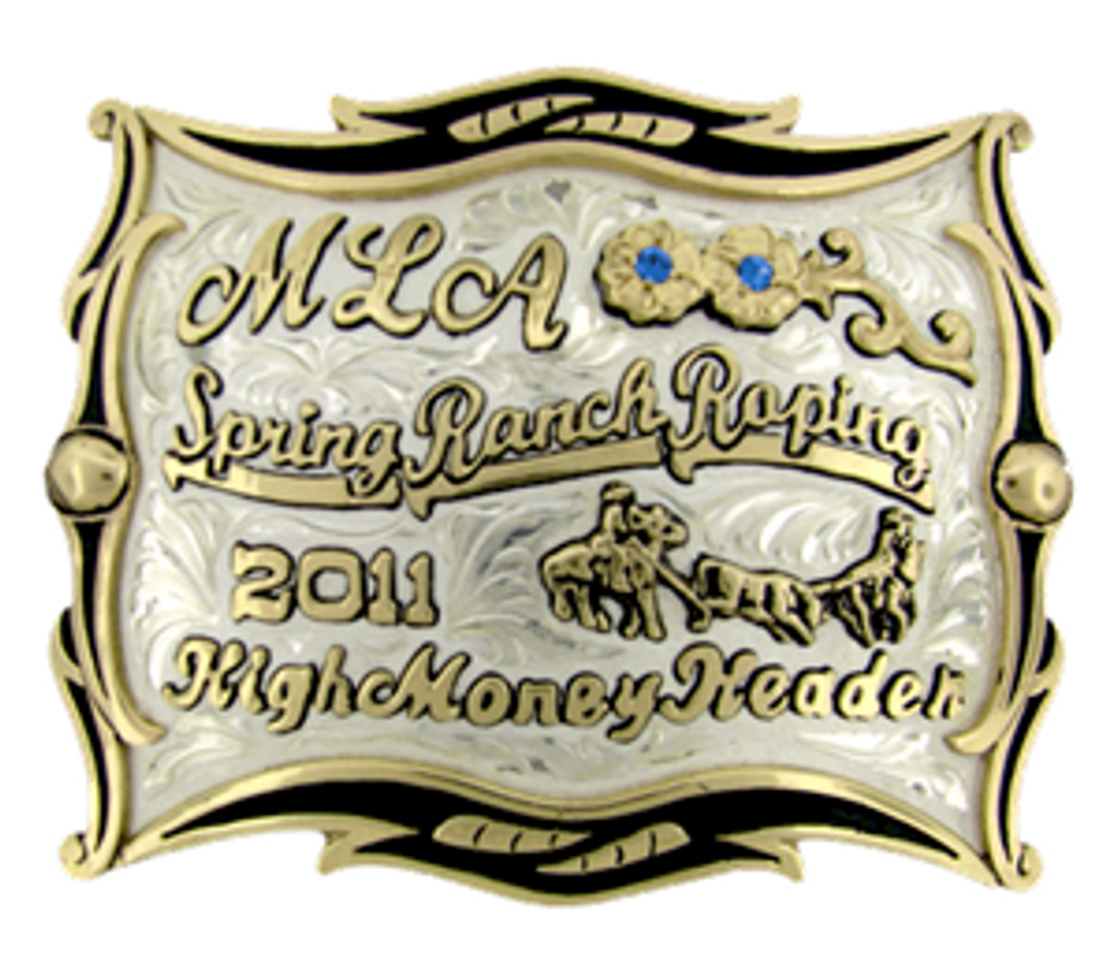 The Chopper trophy buckle