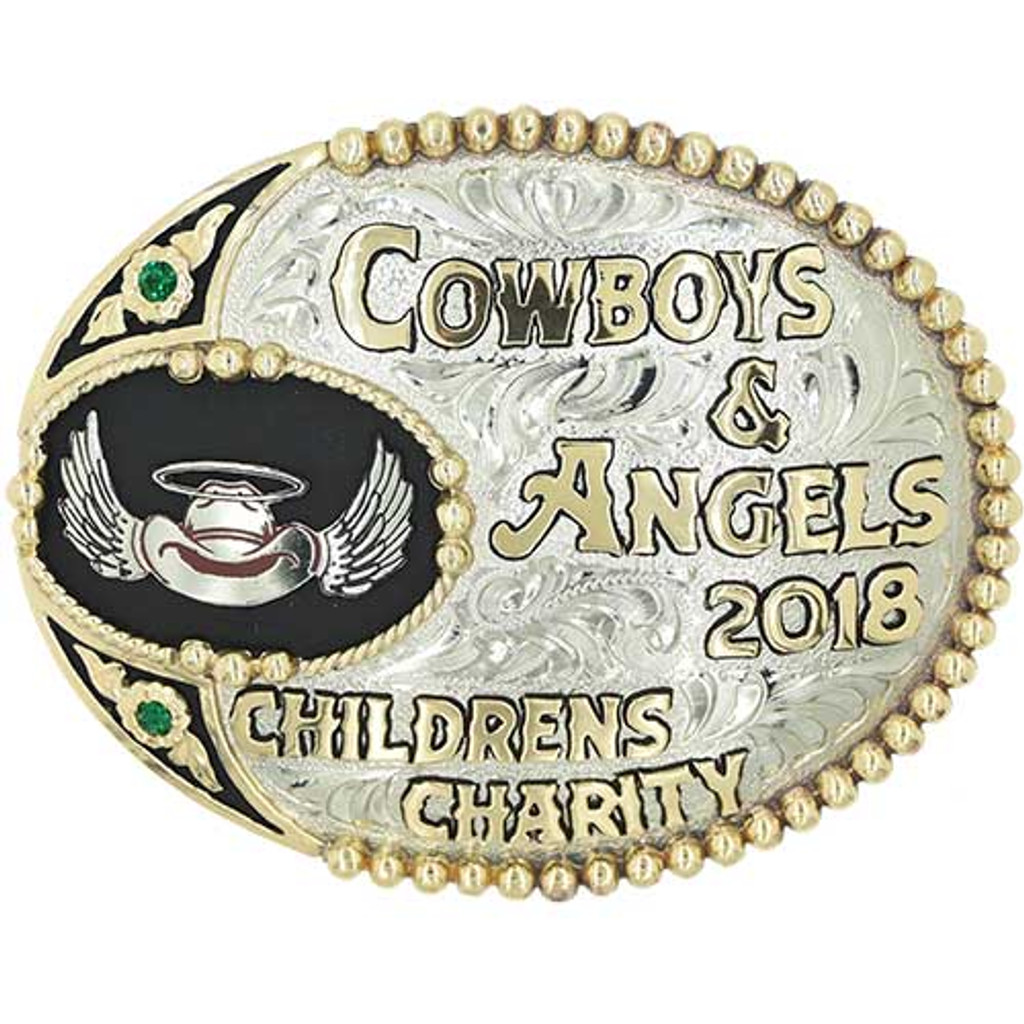 The Round Rock Trophy Buckle