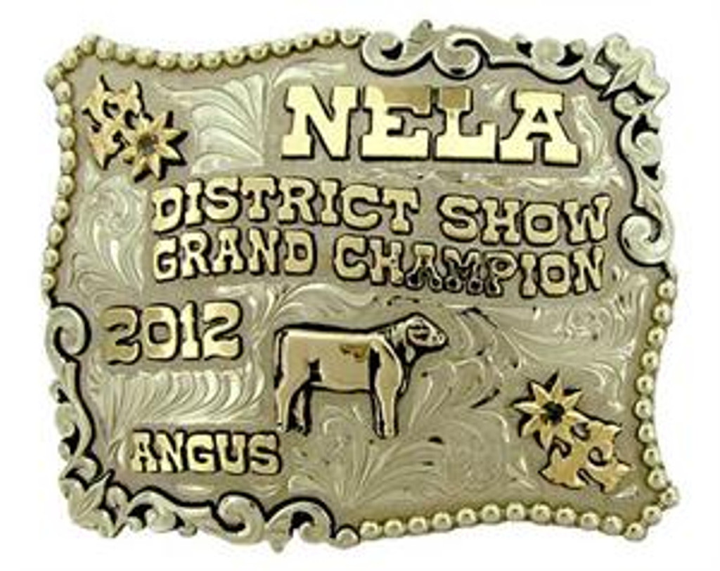 The Alpine trophy buckle