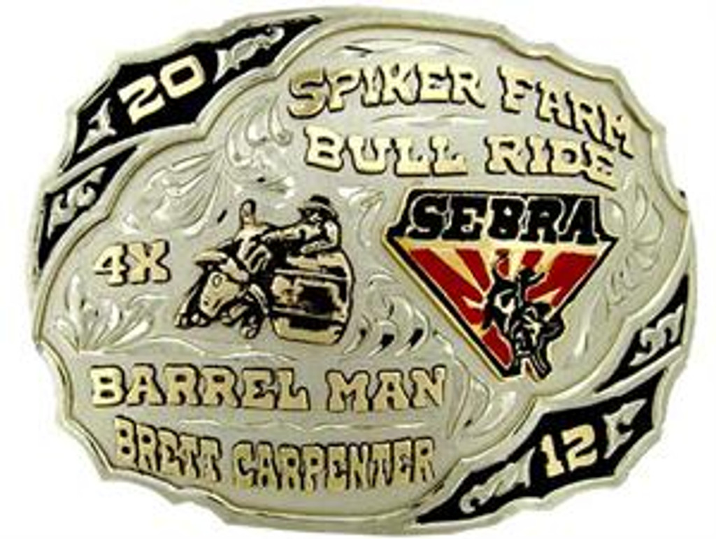 The Fort Stockton trophy buckle