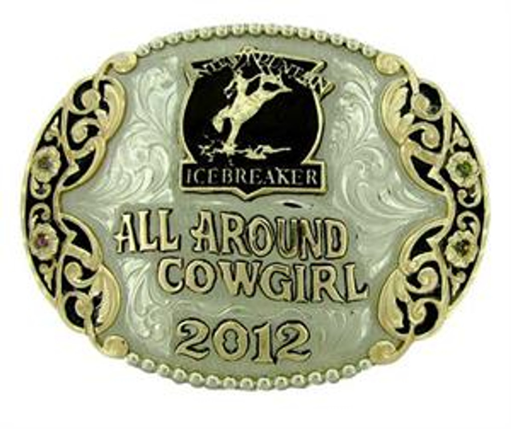 The Odessa trophy buckle