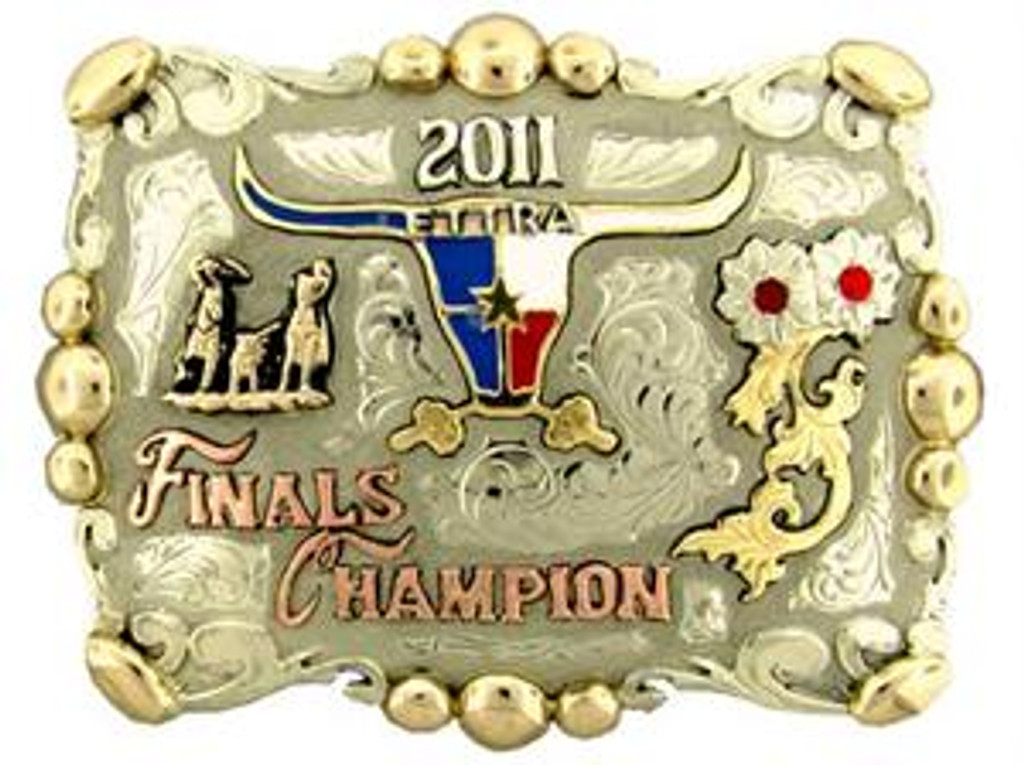The Andrews trophy buckle