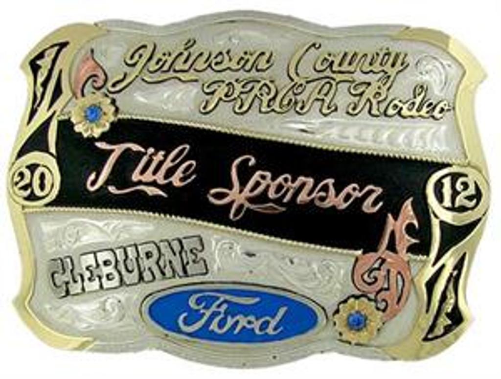 The Littlefield trophy buckle