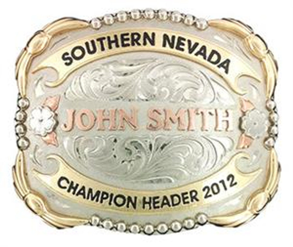 The Galveston Trophy Buckle