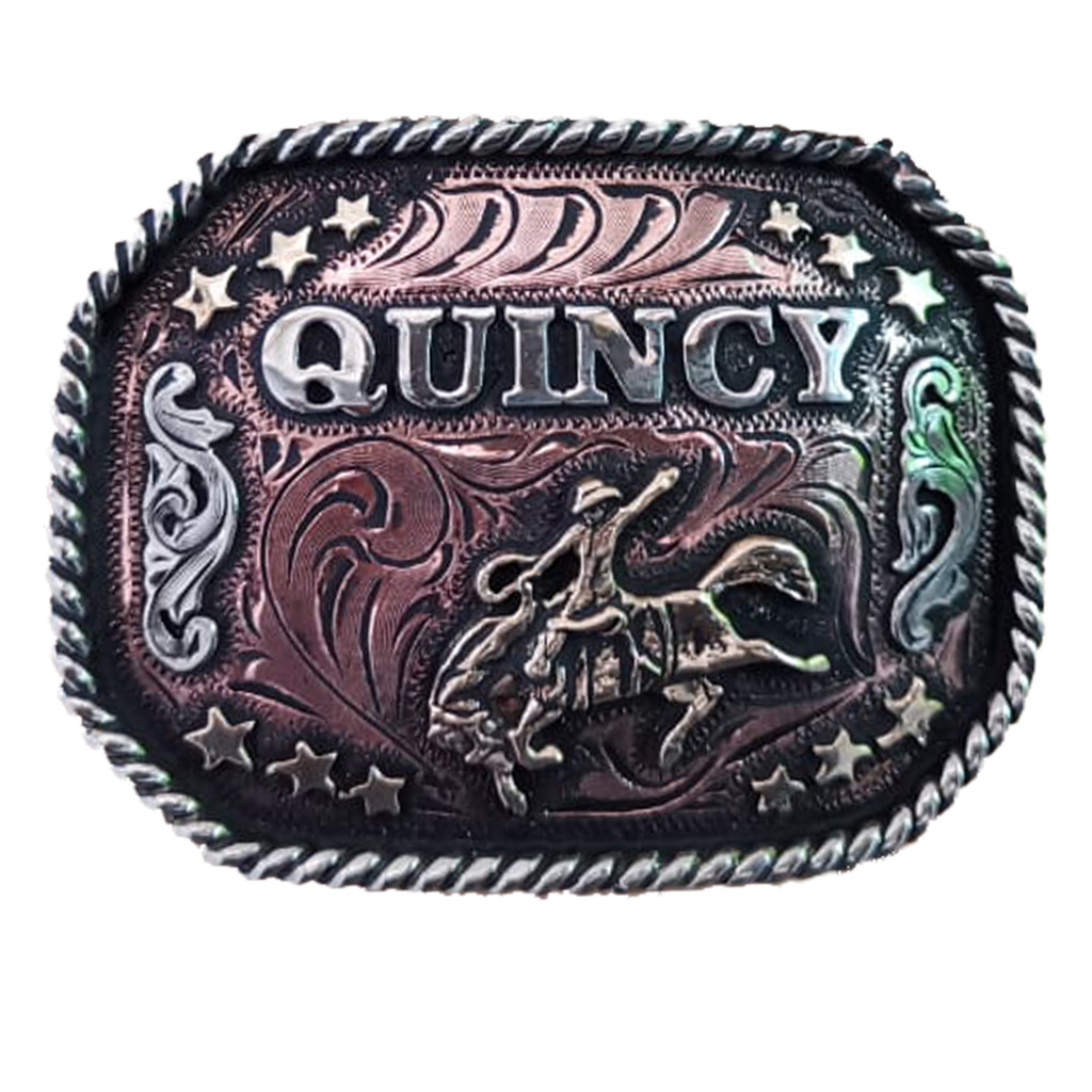 The Cobre Cowboy Belt Buckle