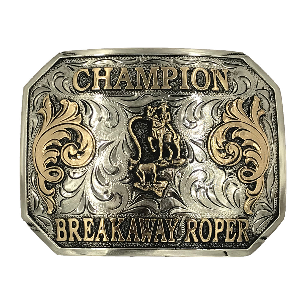 Ready to Ship Champion Breakaway Roper Buckle