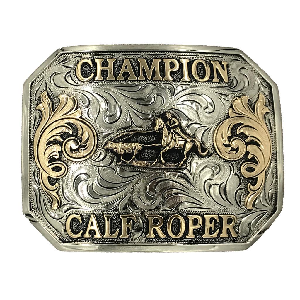 Ready to Ship Champion Calf Roper Buckle