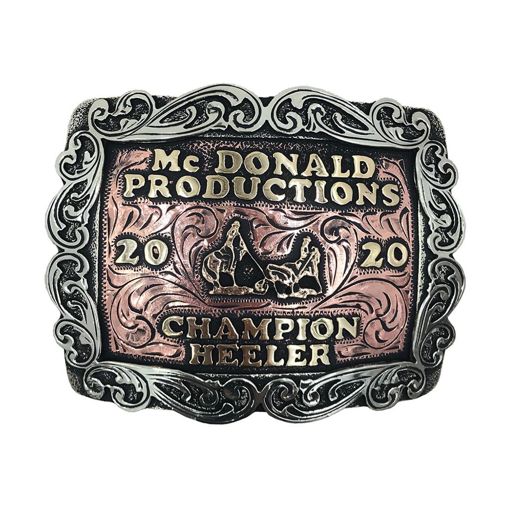 The Quanah Trophy Buckle
