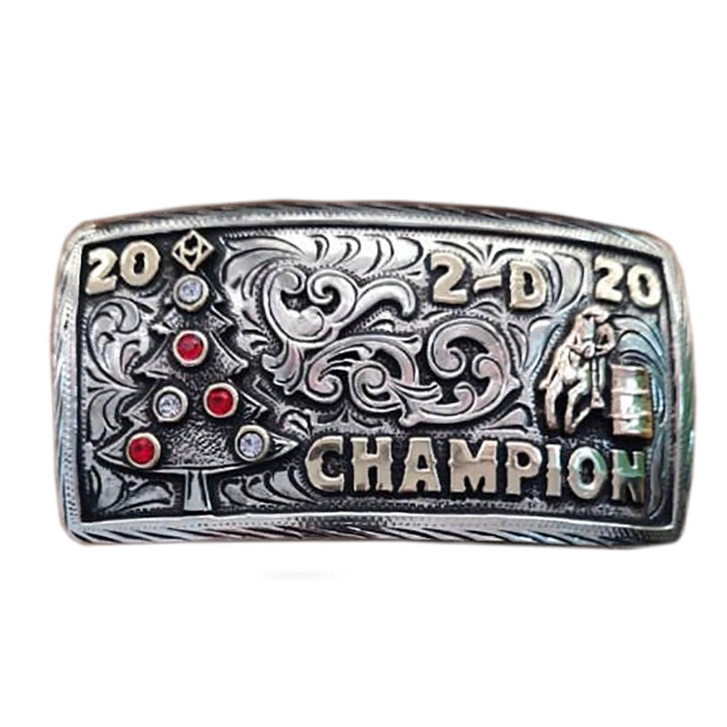 The Muleshoe Trophy Buckle