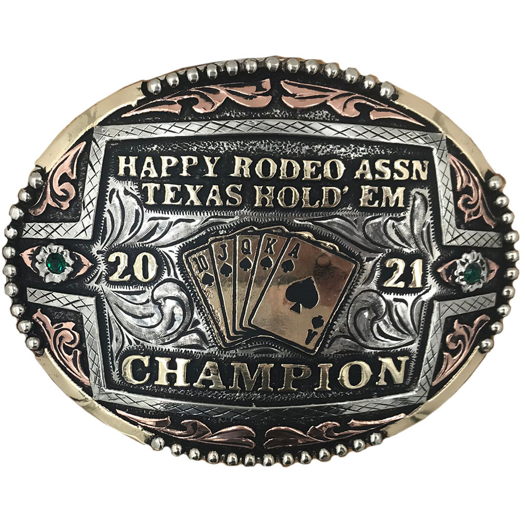 The Domino Trophy Buckle