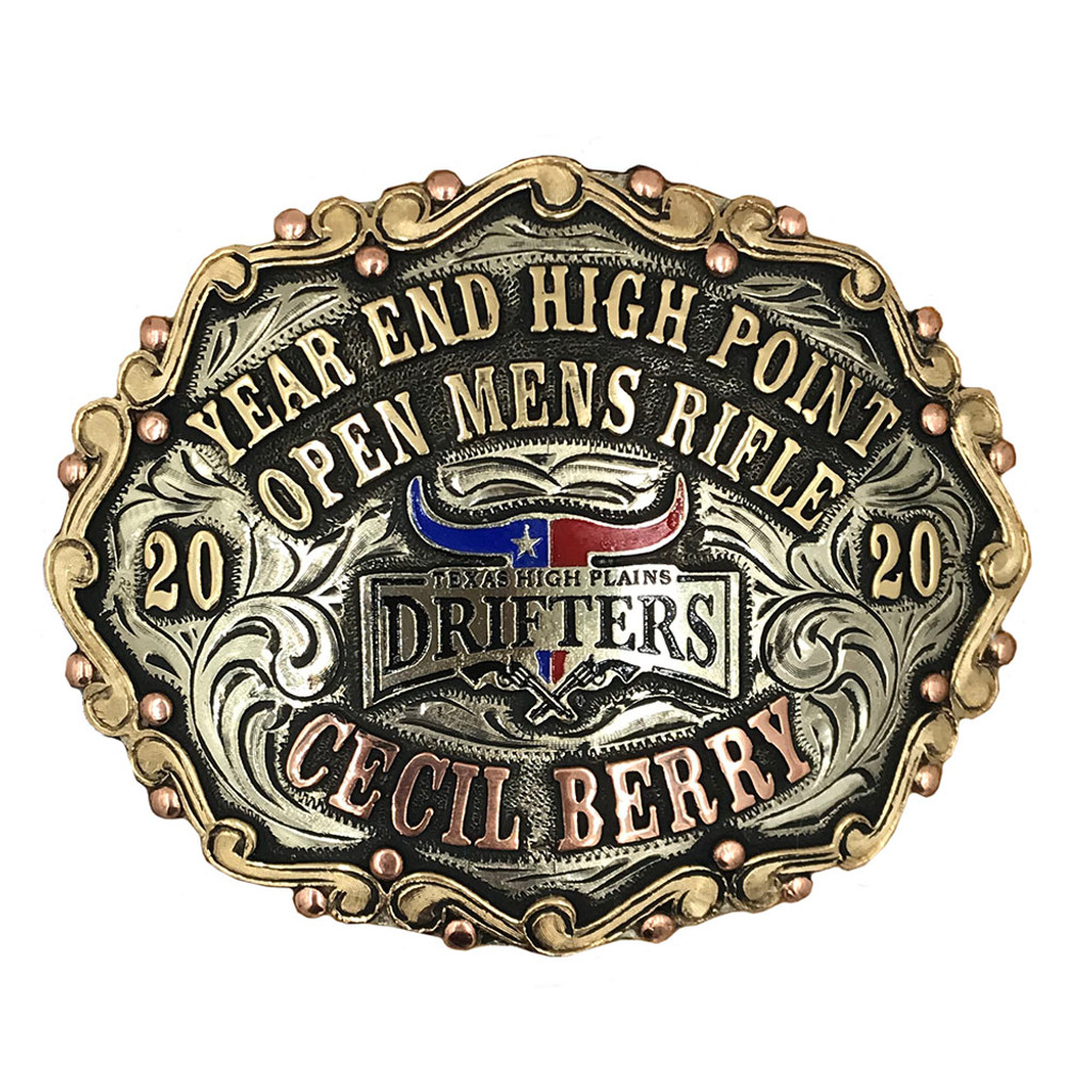 The Panhandle Trophy Buckle