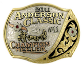 The Brownfield trophy buckle