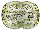 The Ralls trophy buckle