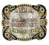 The Stratford Trophy Buckle