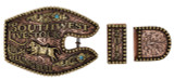 The Cattleman's 3-Piece  Ranger Trophy Buckle