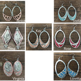 PRE ORDER! Champion's Choice Oklahoma Girl Earrings