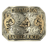 Ready to Ship Champion Barrel Racer Buckle