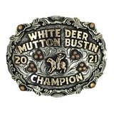 The White Deer Trophy Buckle