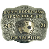 The Simpleton Trophy Buckle