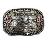The Carson County Trophy Buckle