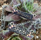 Custom Name Bar Necklace