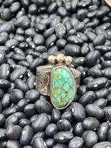 Princess Green Adjustable Ring