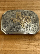 The Texan Showcase Buckle