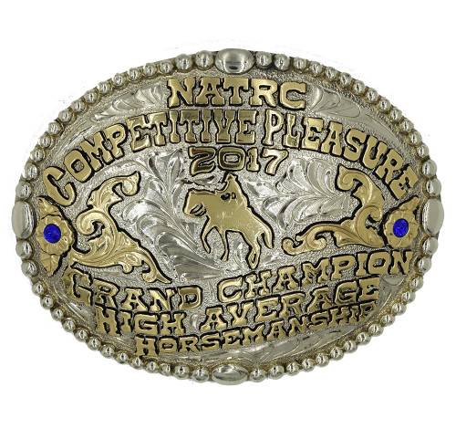 The Chisholm Trail trophy buckle