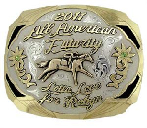 The Seminole trophy buckle