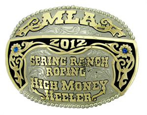 The Springlake trophy buckle