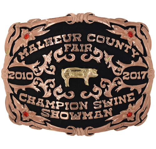 The Wheeler Trophy Buckle