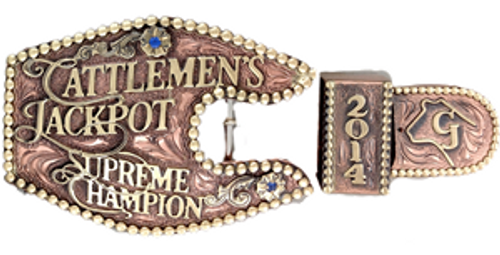 The Cattleman's 3 Piece  Ranger Trophy Buckle