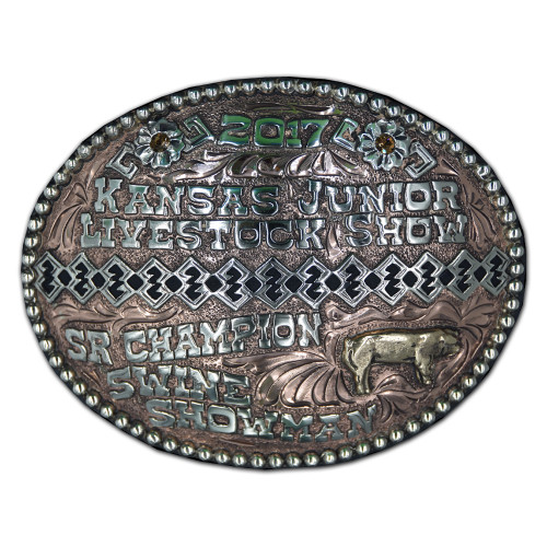 The Shiloh Trophy Buckle