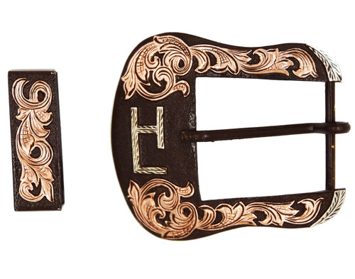 The Raymondville 2-Piece Ranger Buckle