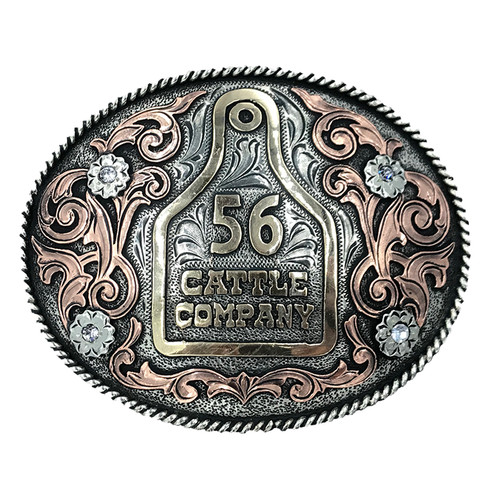 The Earth Trophy Buckle